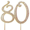BLING PICK - NUMBER 80 IN GOLD