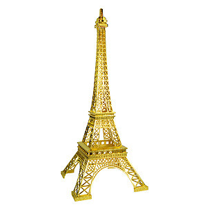 EIFFEL TOWER TOPPER ORNAMENT GOLD