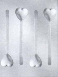 "6 1/2""H HEART SPOON MOLD"