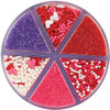 WILTON 6-CELL VALENTINE MIX