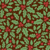 CHRISTMAS HOLLY CHOCOLATE TRANSFER SHEETS