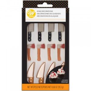 WILTON ROYAL ICING KNIFE MIX PACK OF 12