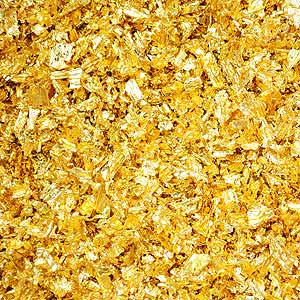 NON EDIBLE GOLD FLAKES
