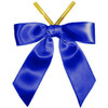 "BOW 3"" - NAVY BLUE WITH TWIST TIE"