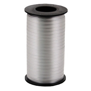 500 YD CURLING RIBBON IN SILVER GRAY