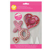 LOVE COOKIE DECORATING KIT - 12 PC
