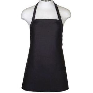 BLACK BIB APRON FOR ADULTS