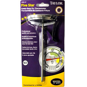 TAYLOR PRO DEEP-FRY CANDY THERMOMETER