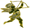 1 PC GOLD FOIL CUPID