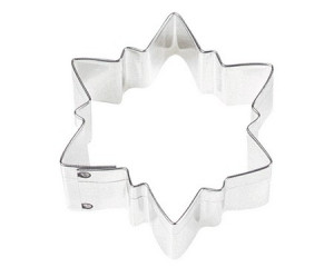 "3"" POINTED SNOWFLAKE CUTTER"