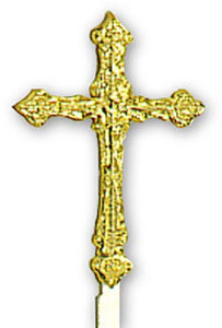 GOLD CROSS 3 INCH - 36 PIECES