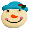 ROYAL ICING SNOWMAN FACE WITH BLUE HAT