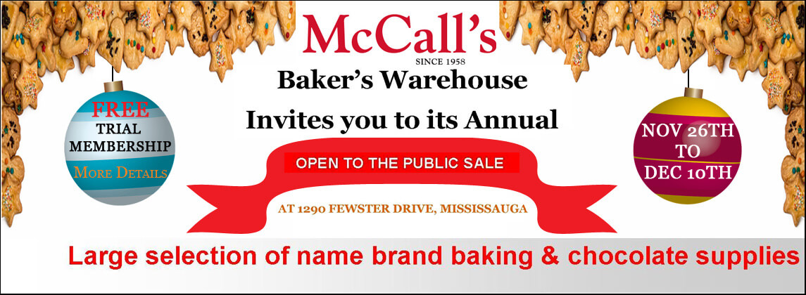 DO NOT MISS OPEN TO THE PUBLIC SALE AT MCCALL'S WAREHOUSE!