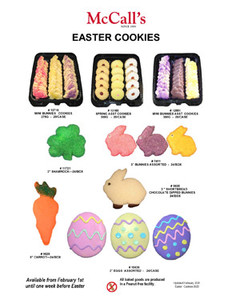 MCCALLS EASTER COOKIES