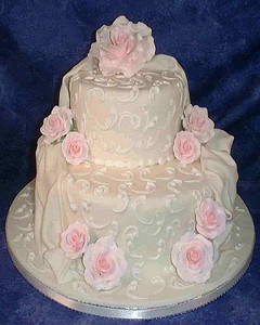 Mccall S Wedding Cake Antique Victorian Rose