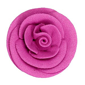 ROYAL ICING ROSE FLOWER EDIBLE ANTIQUE PINK