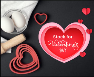 Find items for Valentine Day  - McCall's Warehouse!