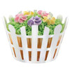 CUPCAKE WRAPPER - PICKET FENCE