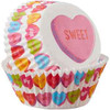 STANDARD BAKING CUPS - CANDY HEARTS