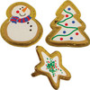 CHRISTMAS COOKIE RINGS 1 5/8""