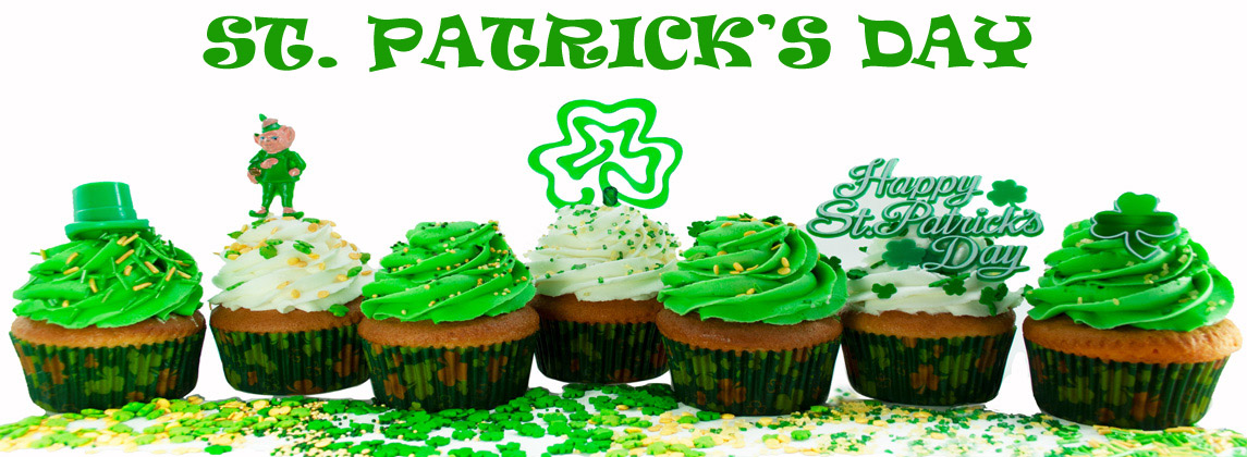 SPRINKLES AND COLOURS FOR ST PATRICK'S DAY!