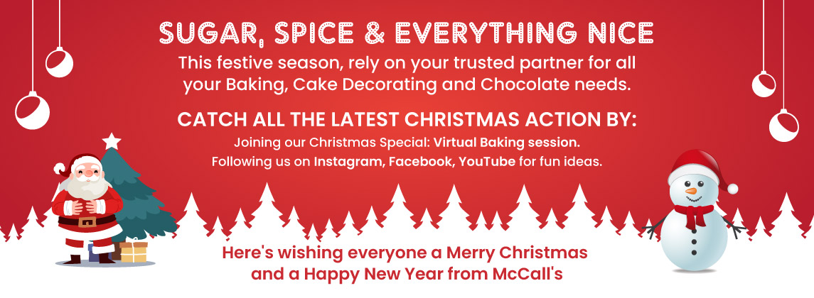 SEASONS GREETINGS FROM MCCALL'S!