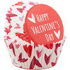 WILTON STANDARD MIXED HEARTS CUPS - 75 PC