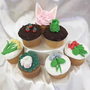 MCCALLS CLASS - SEASONAL CUPCAKES - EASTER